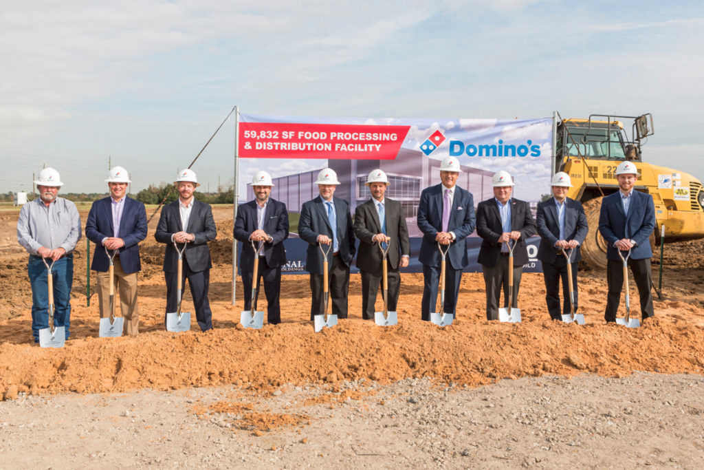 Domino's Pizza new facility will supply dough to 300+ stores