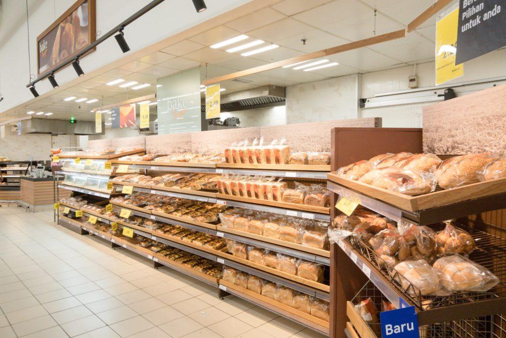 Tesco bakery