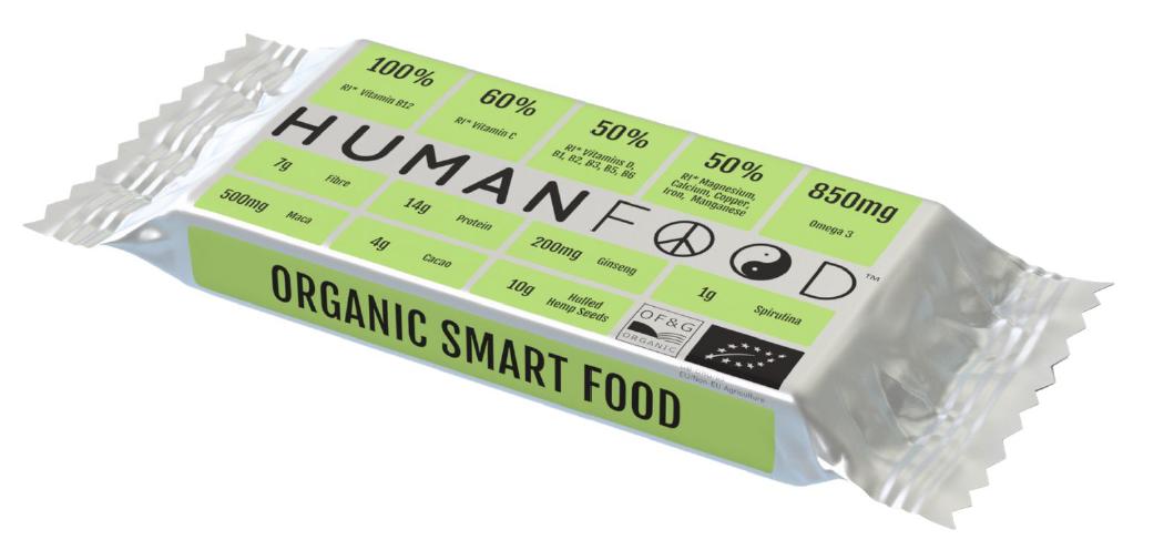 Human Food nutritional bar