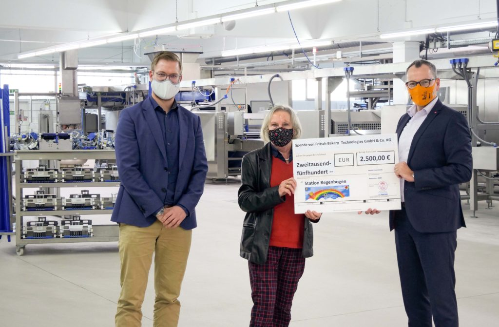 FRITSCH give charitable donation for children cancer ward