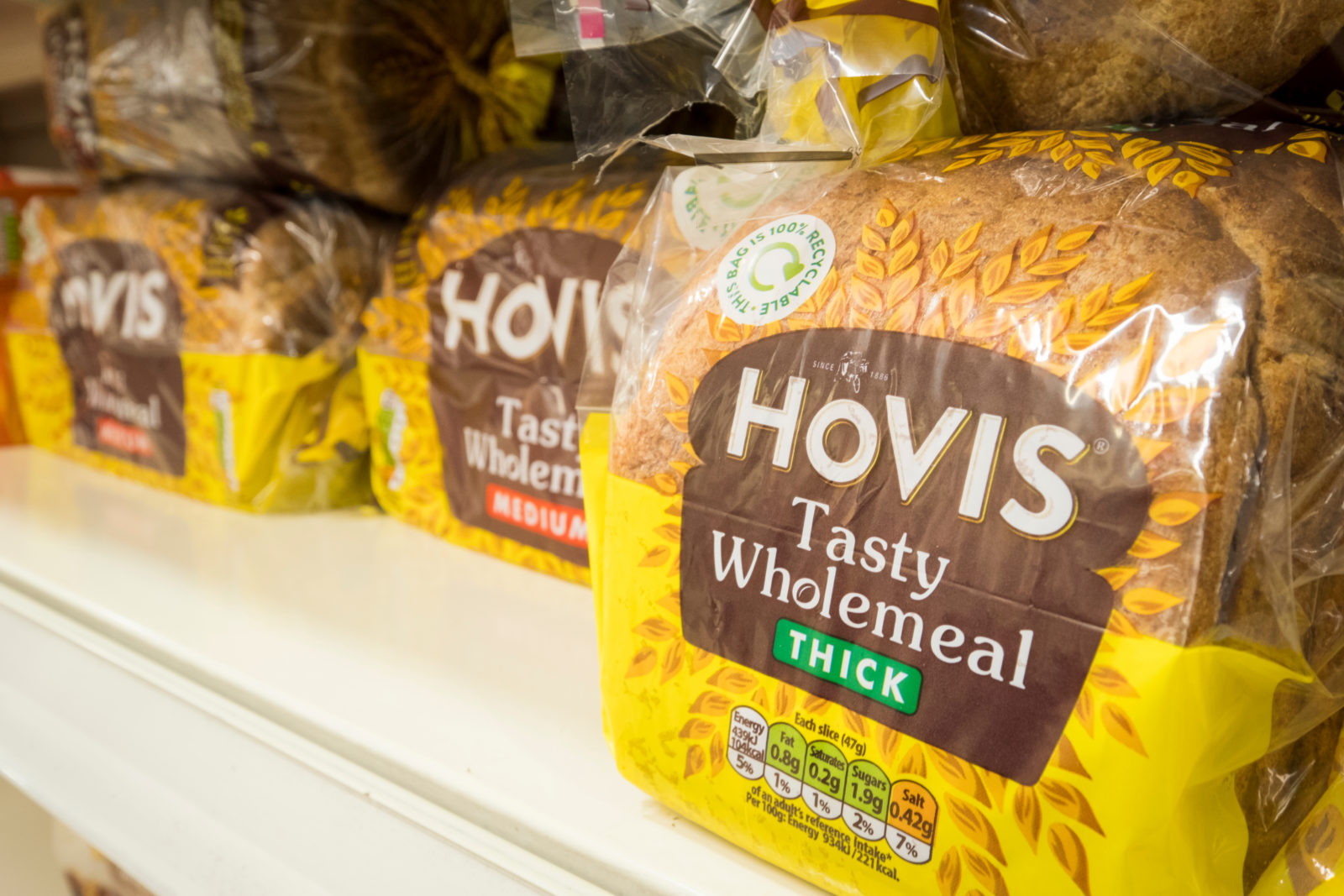 Hovis sold to private equity firm Endless