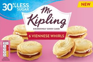 Premier Foods has signed an agreement to sell and market Mr Kipling cakes in the US, as it reveals the brand is on track for 'another record year'.