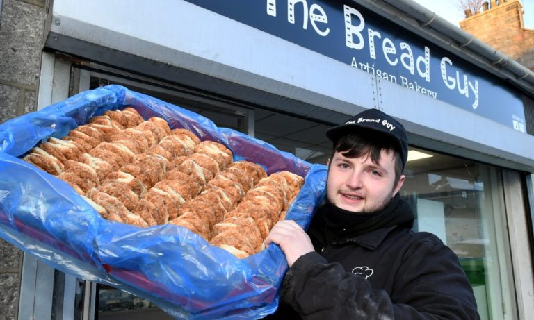 The Bread Guy delivers 1,000 butteries across the UK