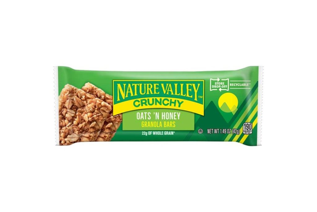 Nature Valley launches recyclable snack wrapper