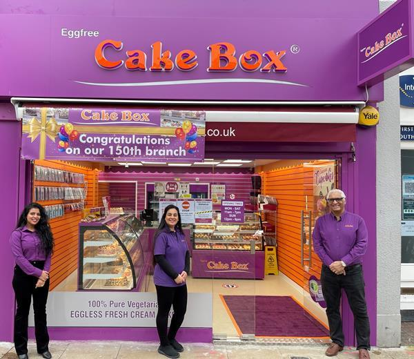 Cake Box expands with 150th store and new production site