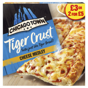 Chicago Town launch new tiger crust price marked packs nationwide