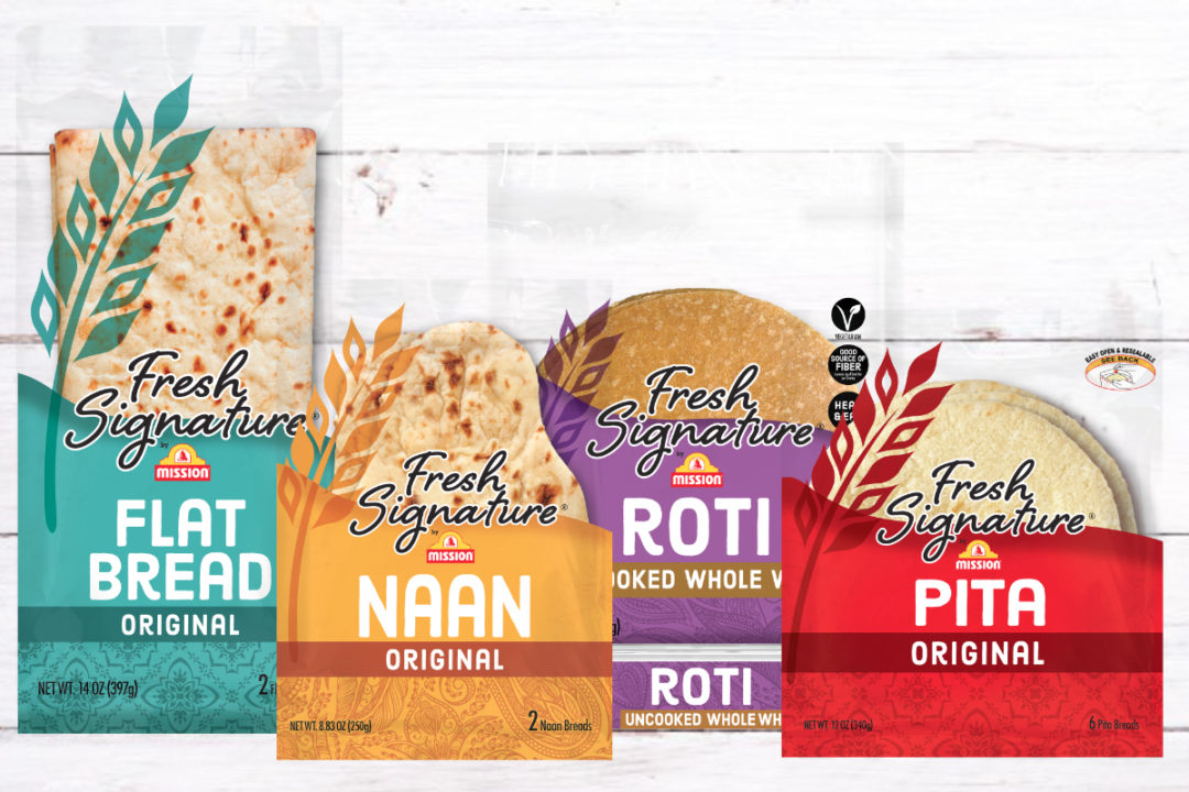 Mission Foods unveil new line Fresh Signature