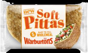 Warburtons releases new range of soft pittas