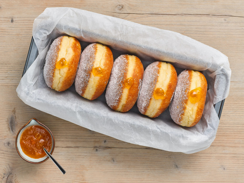 Innovation in doughnut textures and fillings